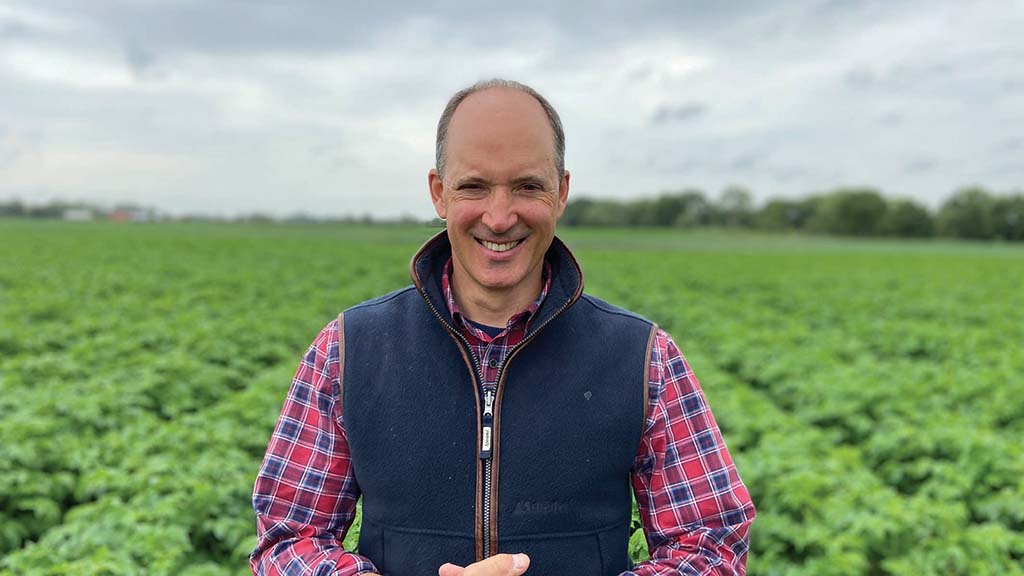 Jonathan Scutt, specialist potato grower, East Yorkshire