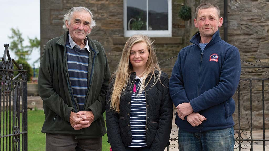 Sheep Special: Long history of Swaledale sheep entwined with family business