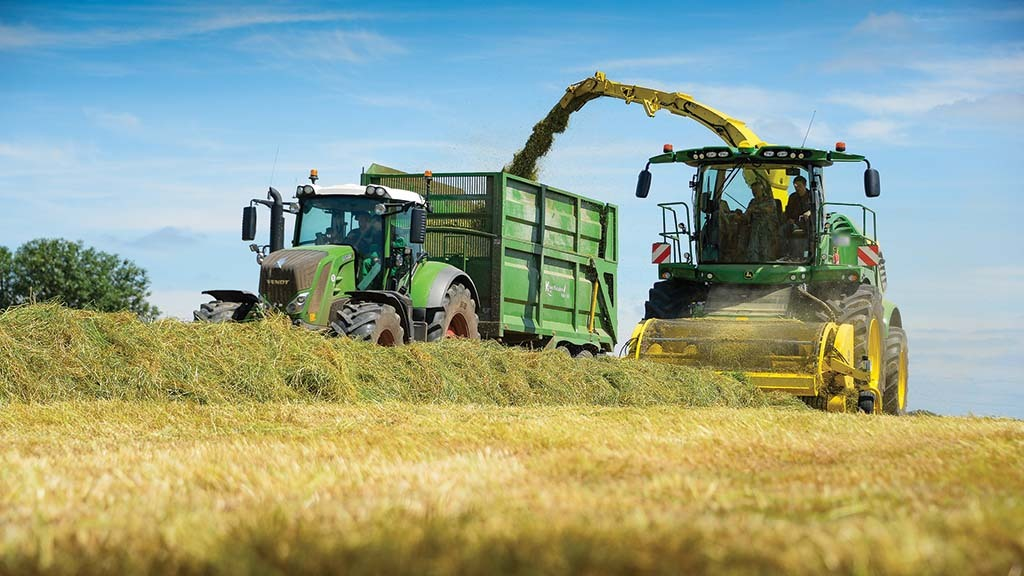 Encouraging early grass silage results