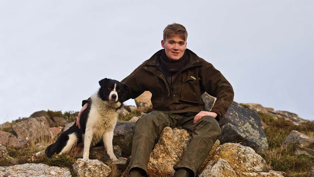 Young Farmer Focus: Mure Grant - 'There is nothing better than watching a sheepdog in full flight'