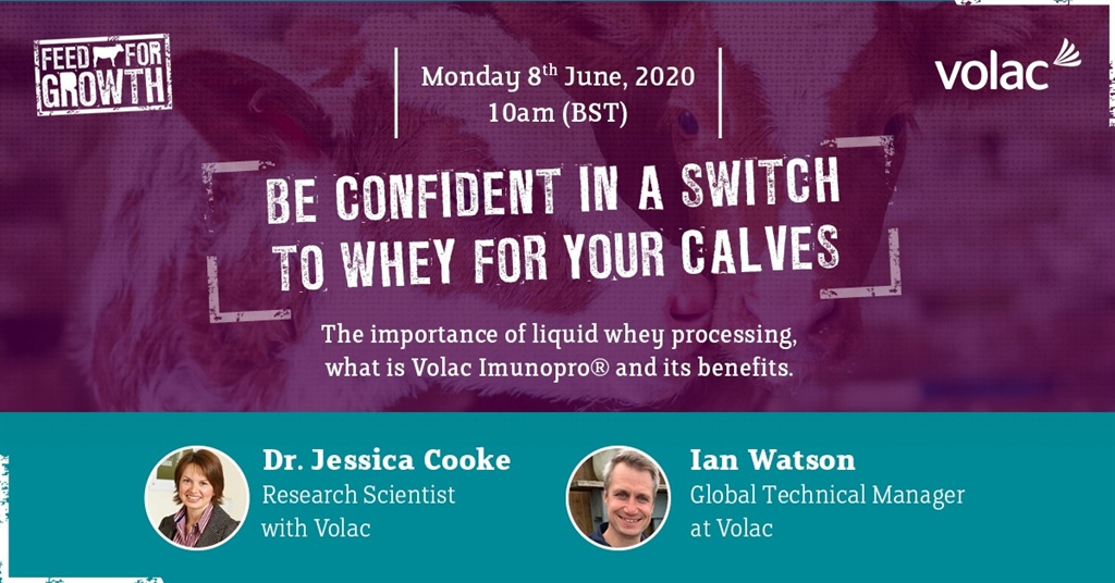 June webinar: be confident in a switch to whey for your calves
