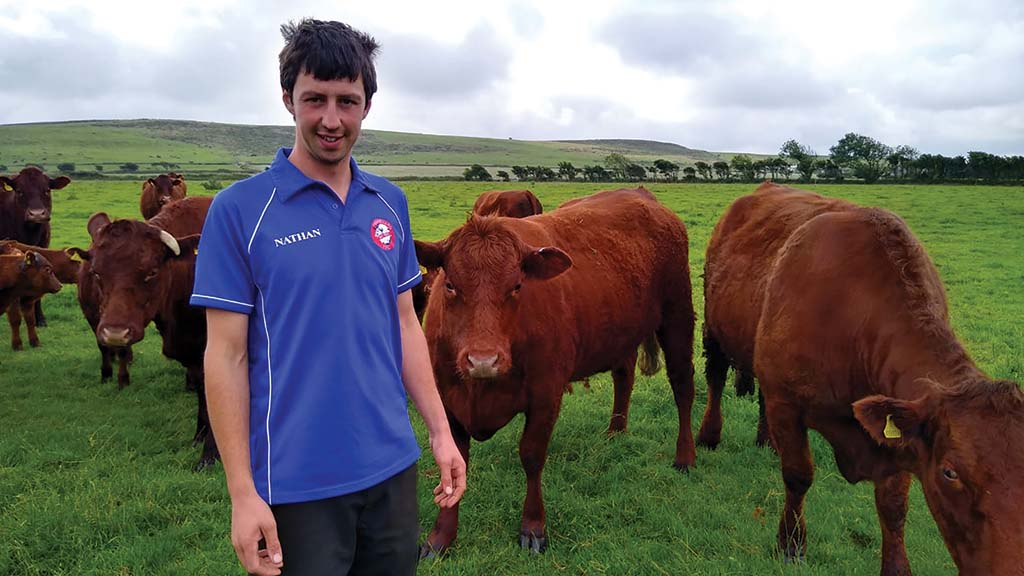 Young Farmer Focus: Nathan Rogers - 'Ten years ago I bought my first bulling heifer'