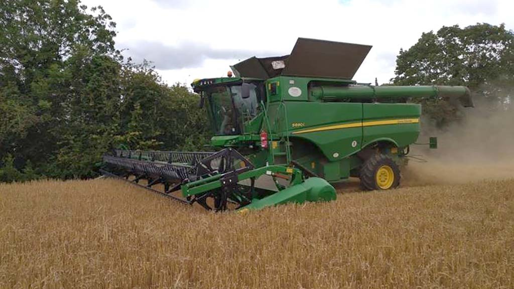 Harvest 20: Yields faring well as winter barley harvest kicks off in Hertfordshire