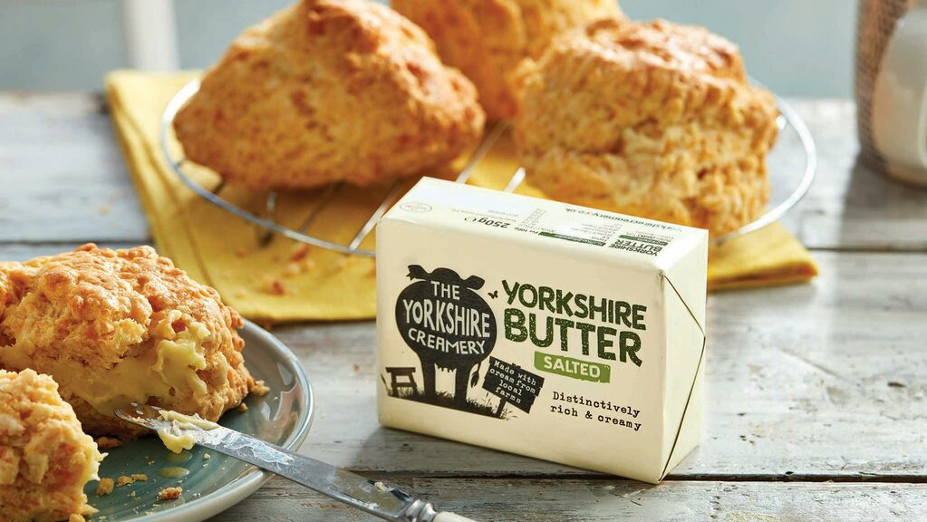 The company's new butter was launched in April this year.