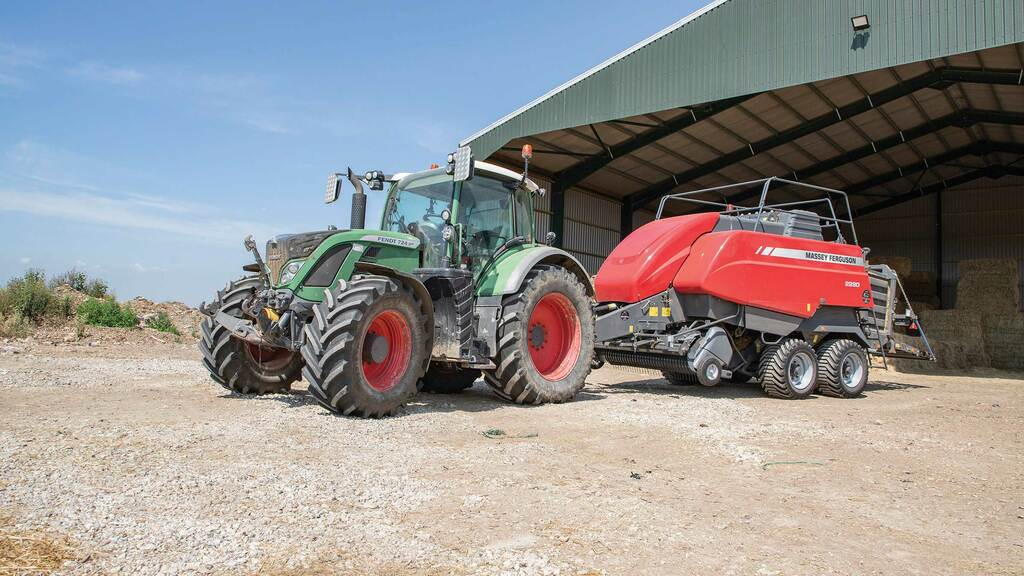 The Fendt 724 has become the tractor of choice for operators at Stud Farm Contracting.