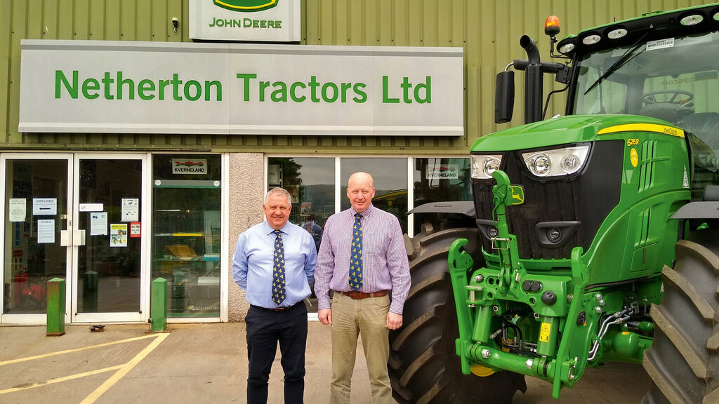 John Deere dealership Netherton Tractors take on the north of Scotland