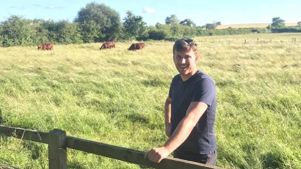 Young Farmer Focus: John Hunt - 'I am extremely excited about the prospect of working for one of farming's most innovative companies'