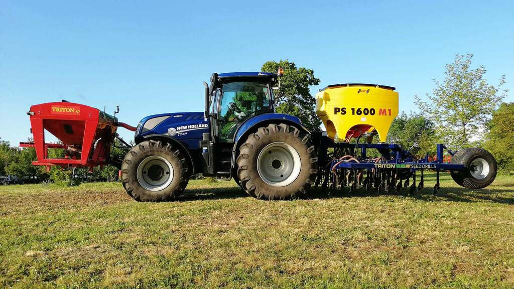 Triple threat to black-grass from Triton seed drill