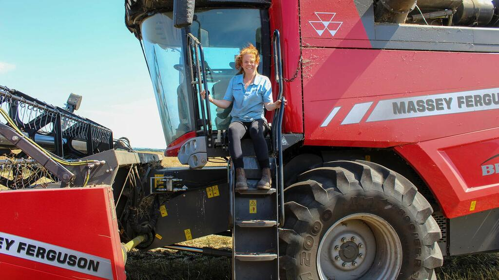Young Farmer Focus: Amy Wilkinson - 'I hope to see a bigger female workforce and encourage employers to give us girls a chance'