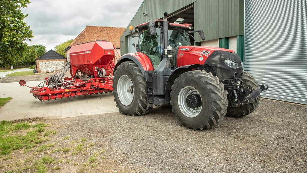 User review: Case IH's Optum 300 CVX is a jack of all trades for one Hertfordshire farm