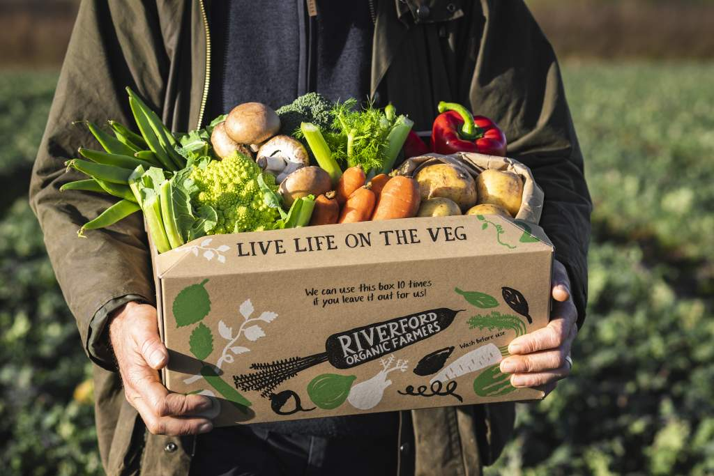 10-11am: 1 month of organic vegetable boxes