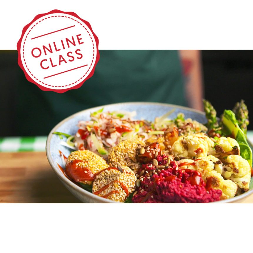 3-4pm: Vegetarian Society Cookery School online course