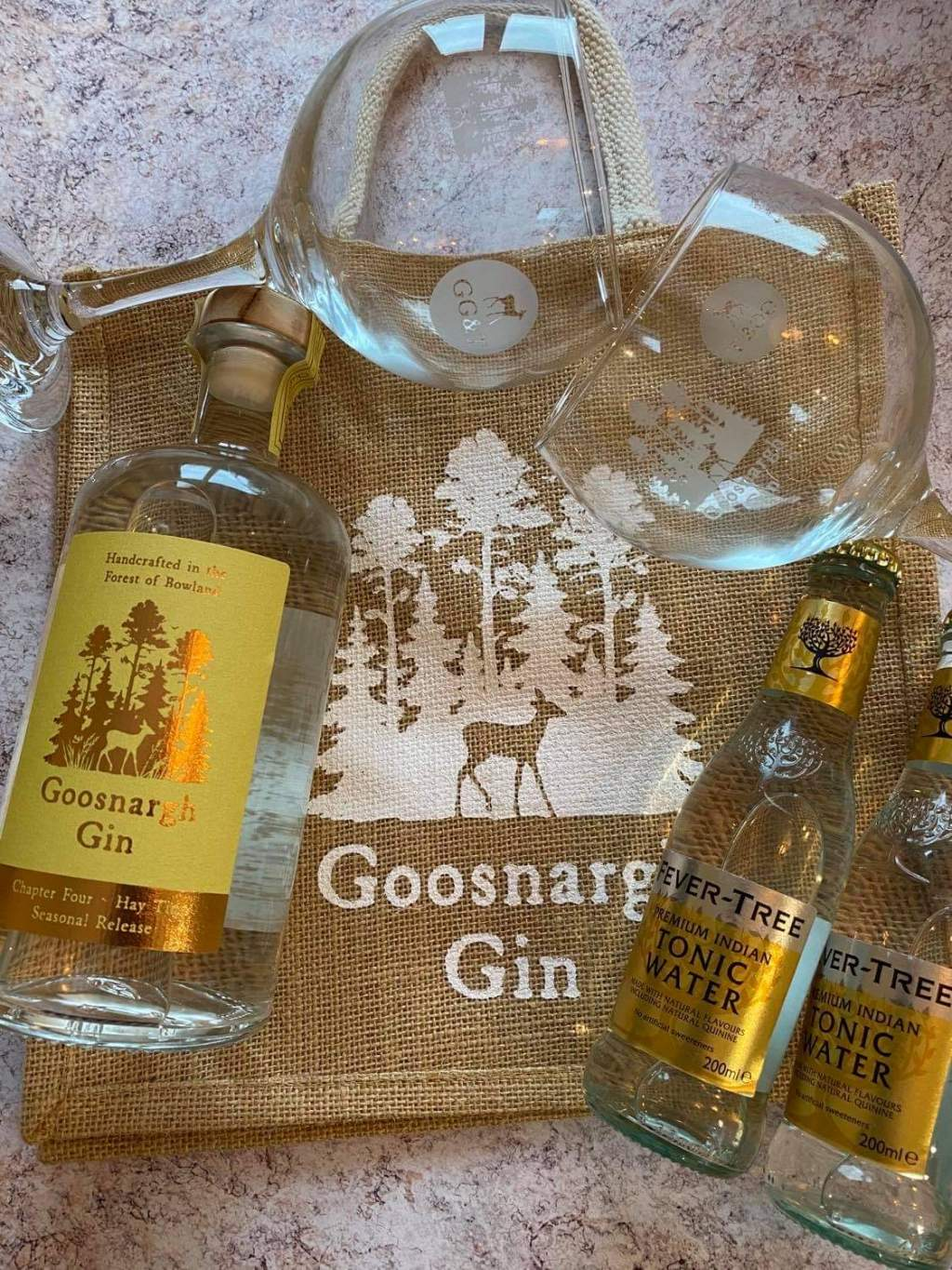 6-7pm: Goosnargh Gin Chapter Four – Hay Time gift pack