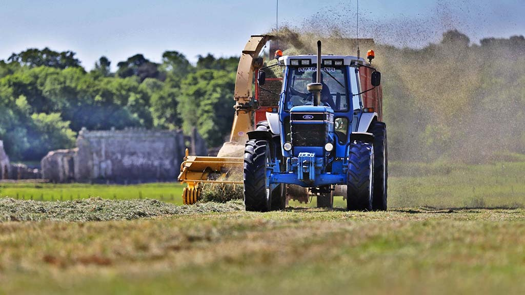 The farm chops 16ha per cut to feed its 50 cows, with an emphasis on silage quality.