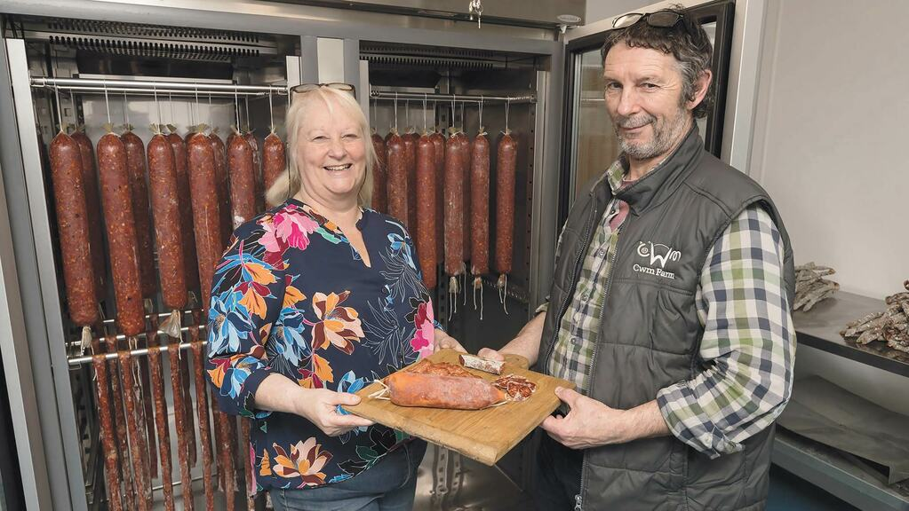 Where did it all begin for booming Welsh salami niche?