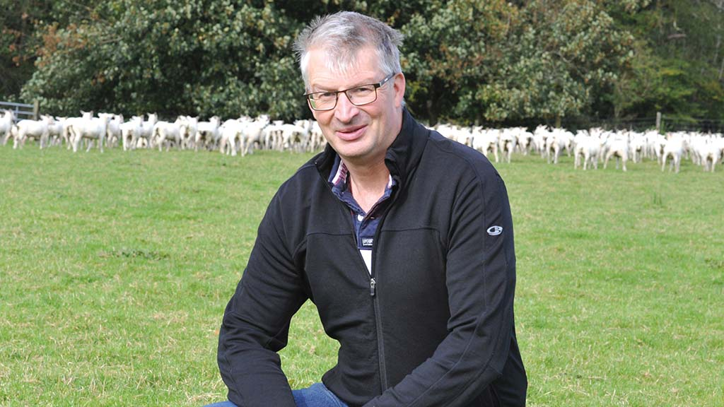 Huw Davies - Sheep farmer at Llandre, Carmarthenshire, and senior farming consultant at AgriWebb.