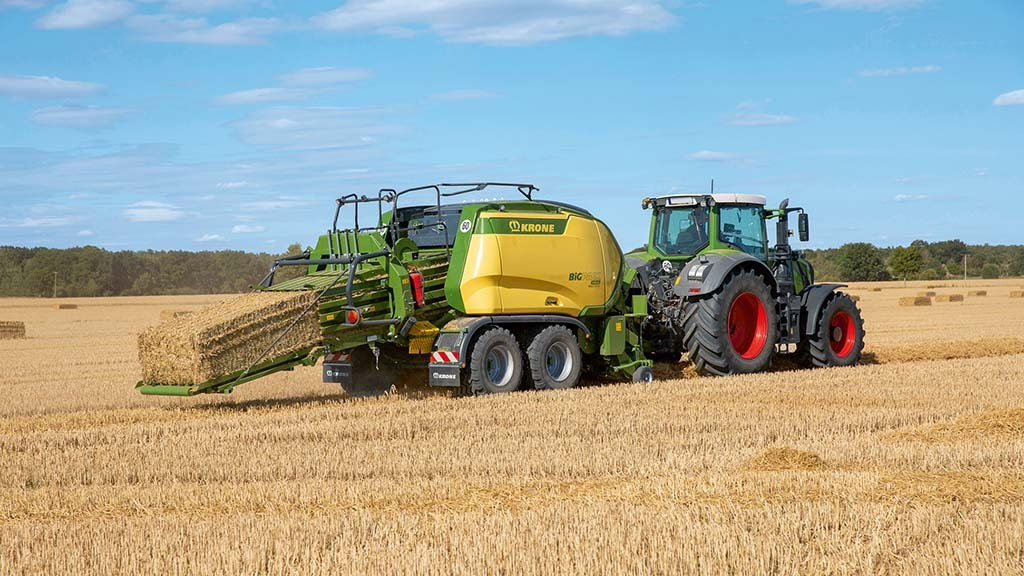 Higher density for Krone's new fifth generation BigPack balers
