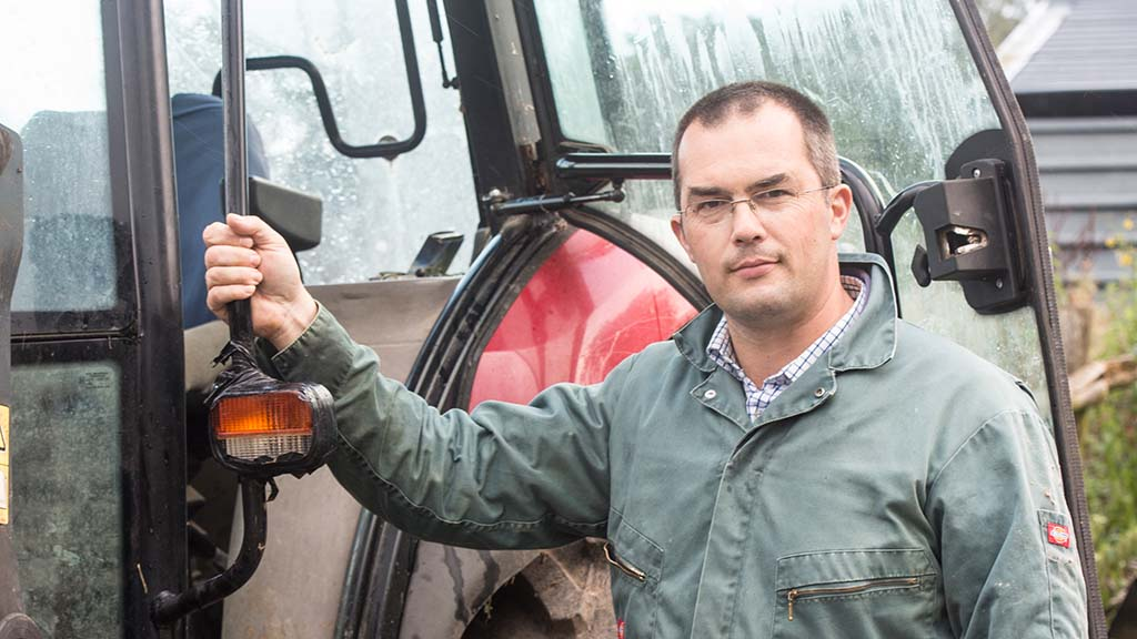 In you field: Jon Stanley - 'I am glad to have the straw safely in the barn'