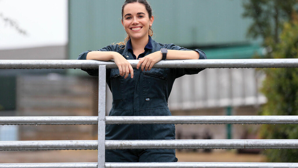 Young farmer focus: Harriet Bartlett - 'I feel honoured to work with farmers towards a more sustainable future'
