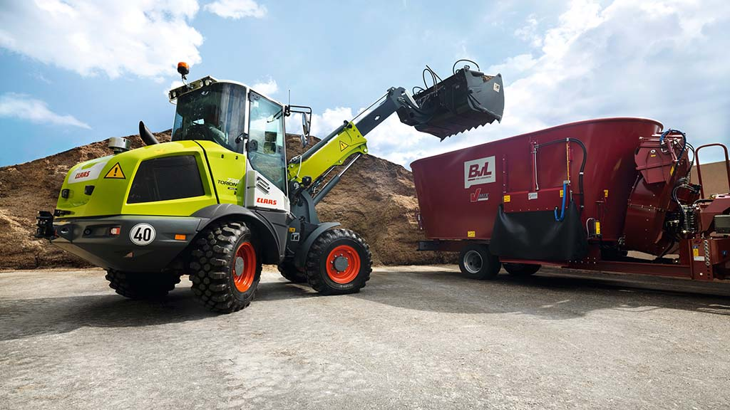 Claas expands Torion range with its first telescopic wheel loader
