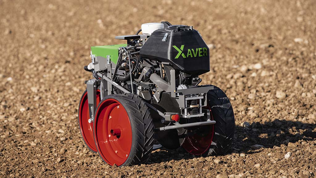 Fendt's swarm robot concept gets new seeding unit and three wheel design