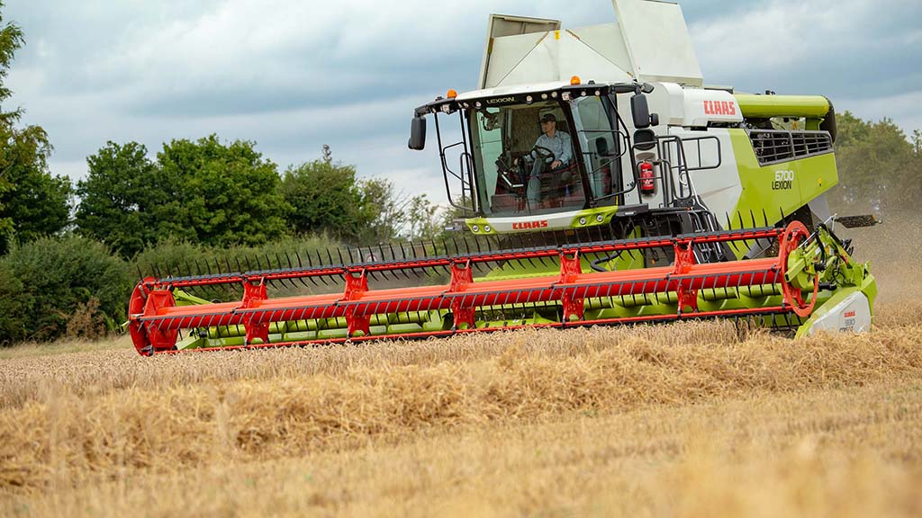 Claas Lexion 5000/6000 Series combines
