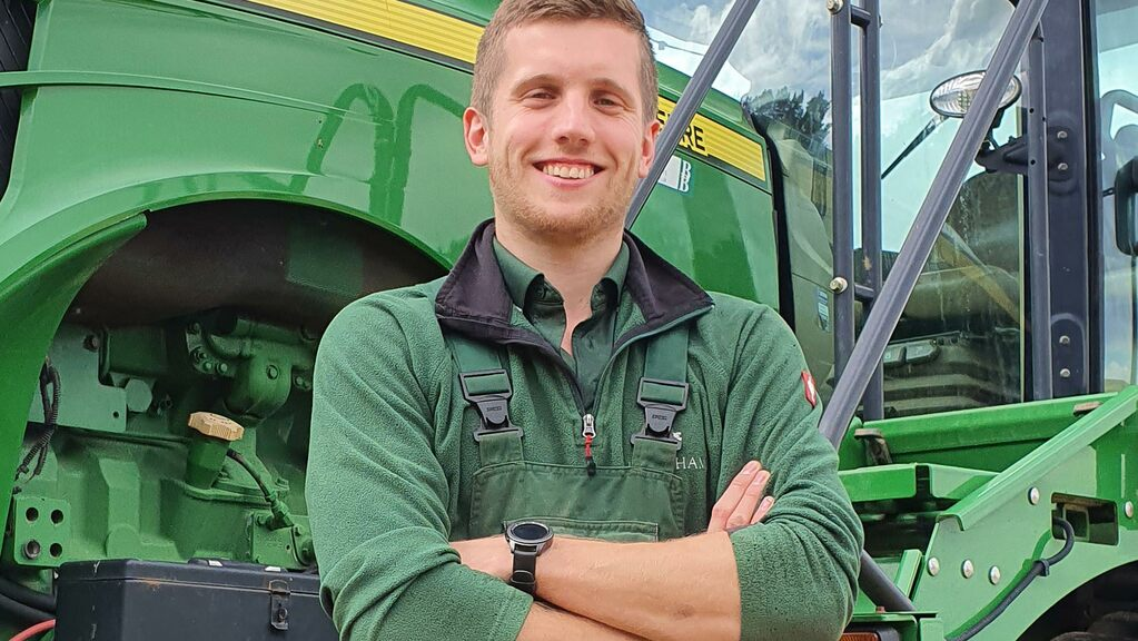 Young farmer focus: Connor Tindall-Read - 'Soil and staff are all too often overlooked'
