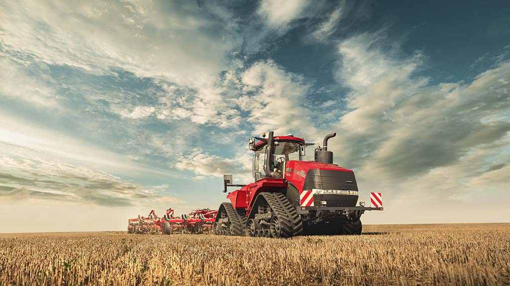 Case IH adds brains to its articulated tractors' brawn.