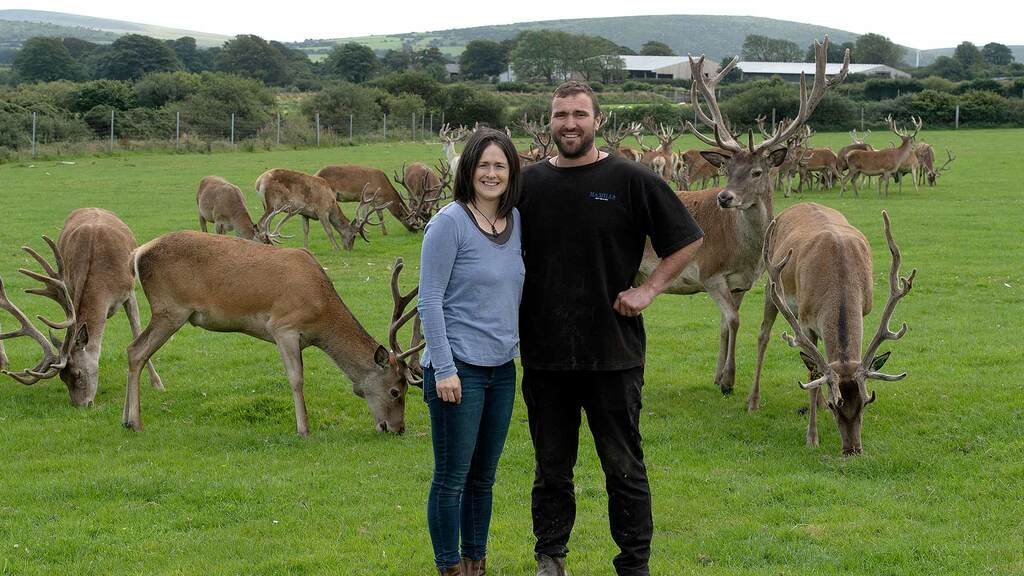 Diet regime inspires couple to launch new venison enterprise
