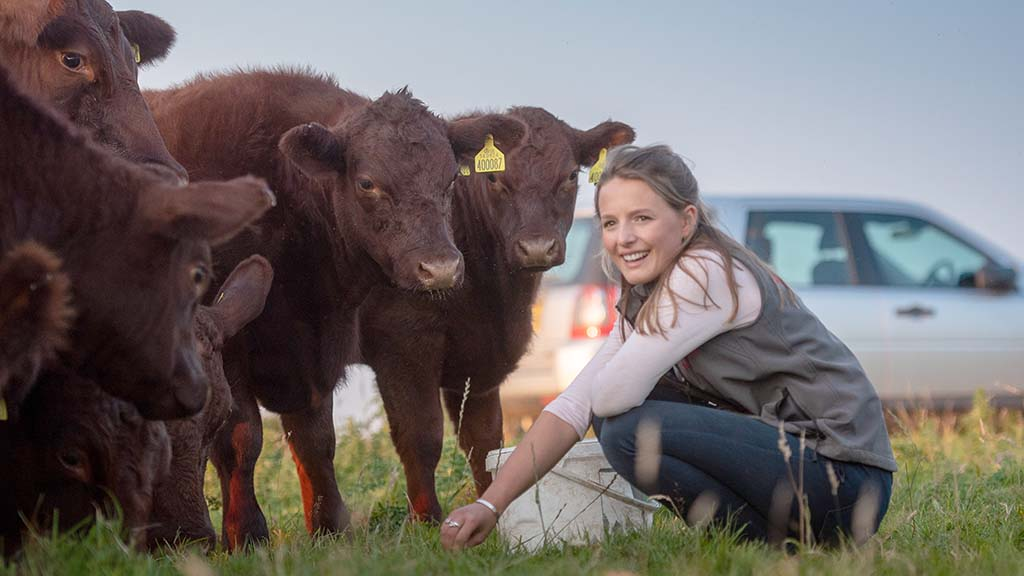 Young farmer focus: Martha Hayes - 'Our farmers must be trusted to deliver'