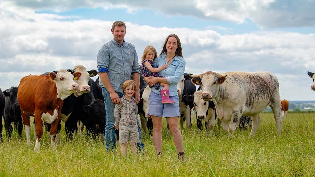 'It is something we really believe in' - Pasture-fed ethos behind couple's farming ambition