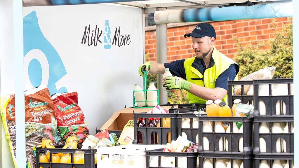 Lockdown brings boost for milkmen