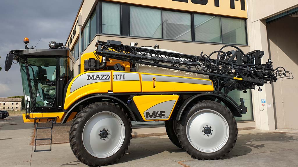 Updates for Mazzotti's MAF self-propelled sprayer range sees a host of John Deere tech added