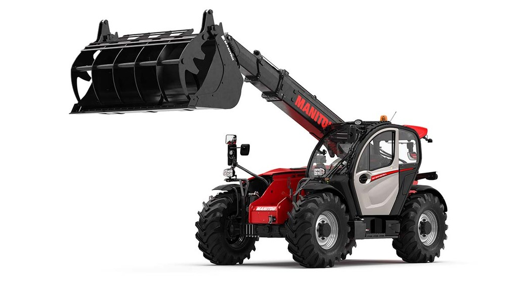 New range of telehandlers from Manitou for intensive applications