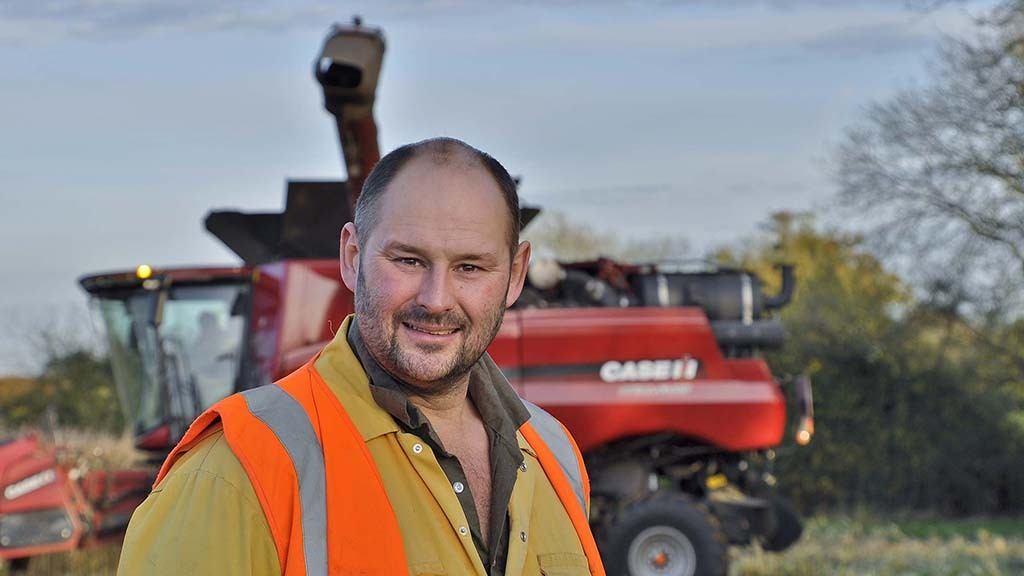 Dale Aston who operates Brinklow Biogas alongside his brother, Mark.