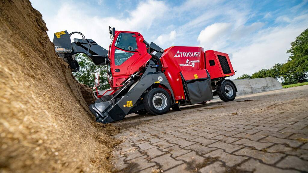 Trioliet adds compact self-propelled mixer wagon to Triotrac range