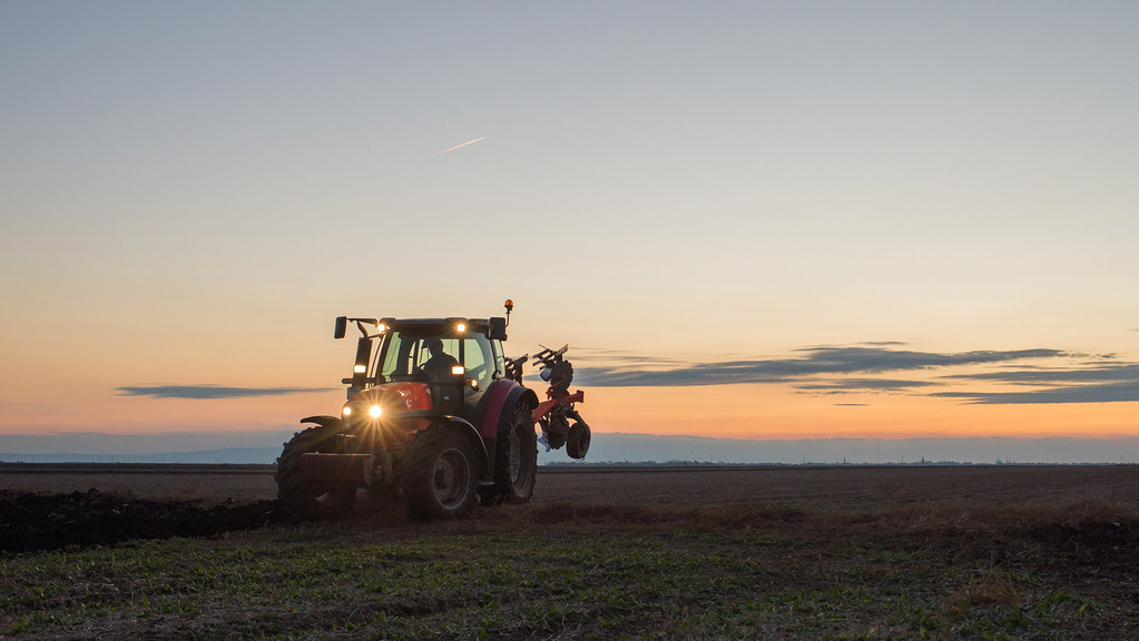 Safety calls for farmers driving machinery as darker nights draw in