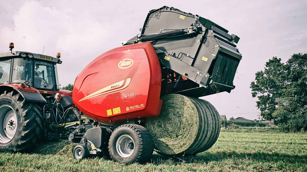 Vicon refreshes RV5200 Series variable chamber round balers