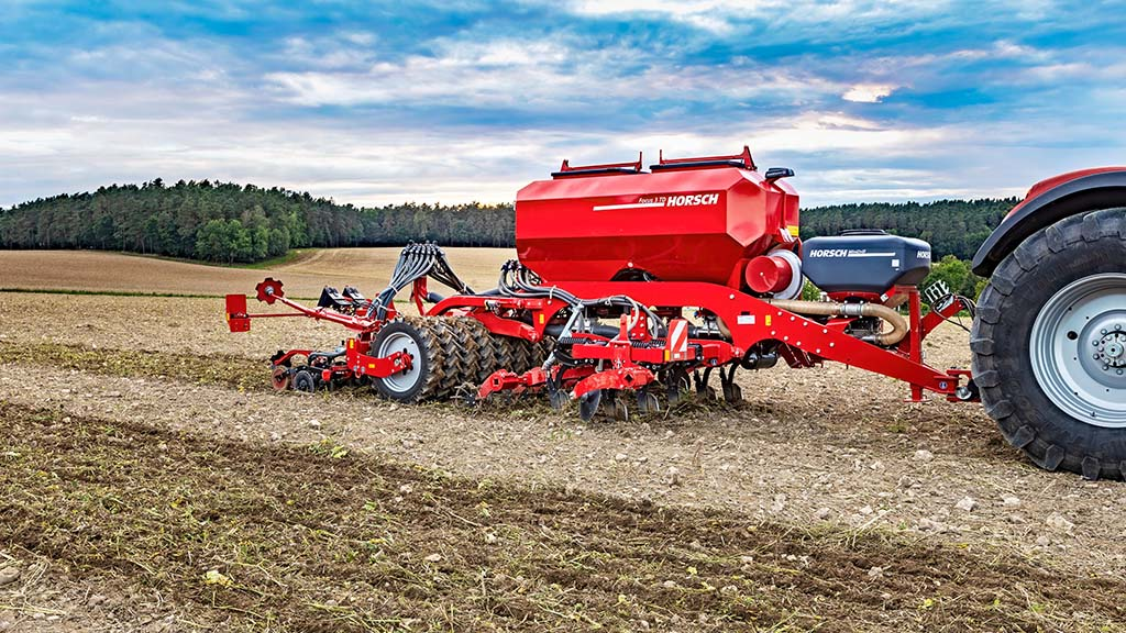 Horsch adds three metre version of Focus TD strip-till drill