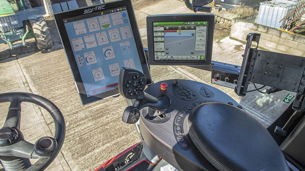In-cab terminal and integration with Greenstar is rated highly by Dave Merrill.