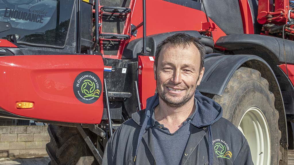 Foreman Dave Merrill is pleased with the logistical improvements of choosing a sprayer with double the previous model's tank capacity.
