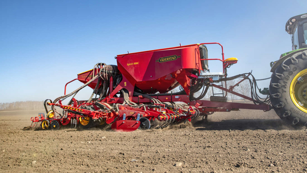 Vaderstad updates its four metre Spirit pneumatic seed drill