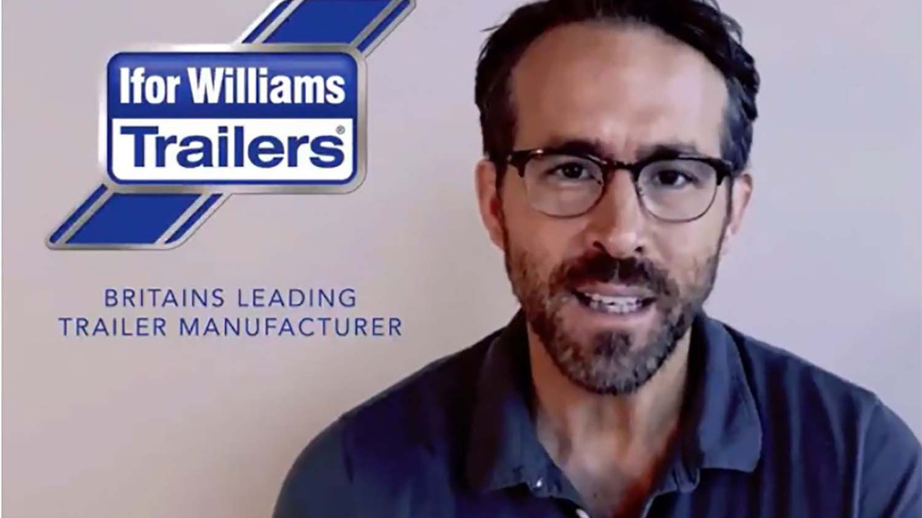 Ryan Reynolds stars in spoof Ifor Williams Trailers ad revealing Wrexham A.F.C takeover