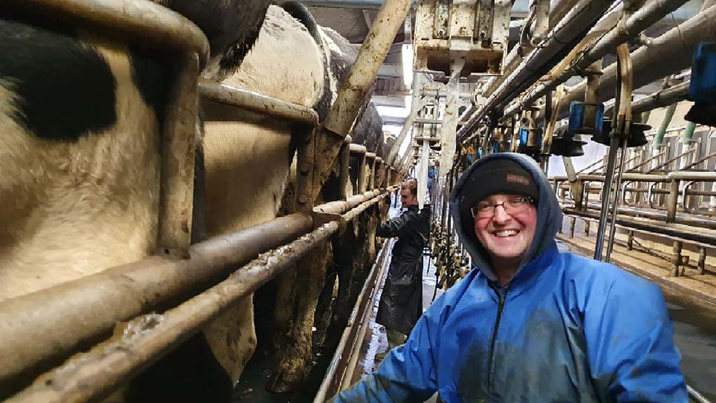 The employee: Shaun McKay, herd manager