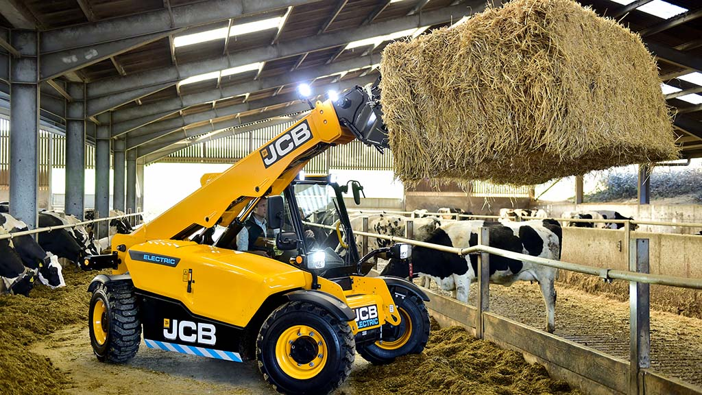 JCB electric-powered Loadall