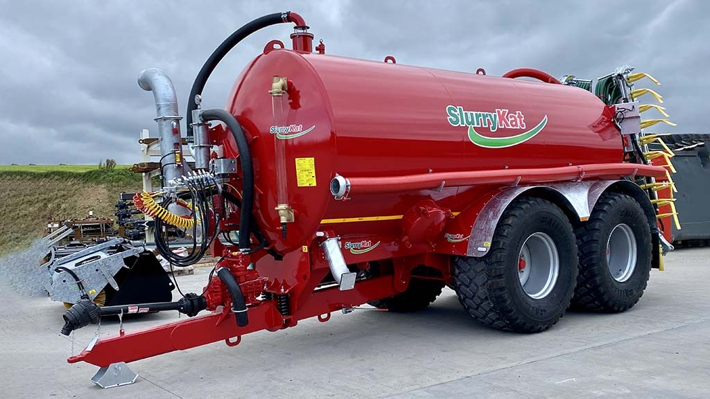 SlurryKat launches high specification range of Super Tankers