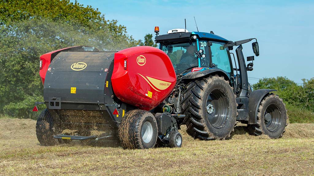 FixBale 500 has been designed to be a heavy-duty fixed chamber baler.