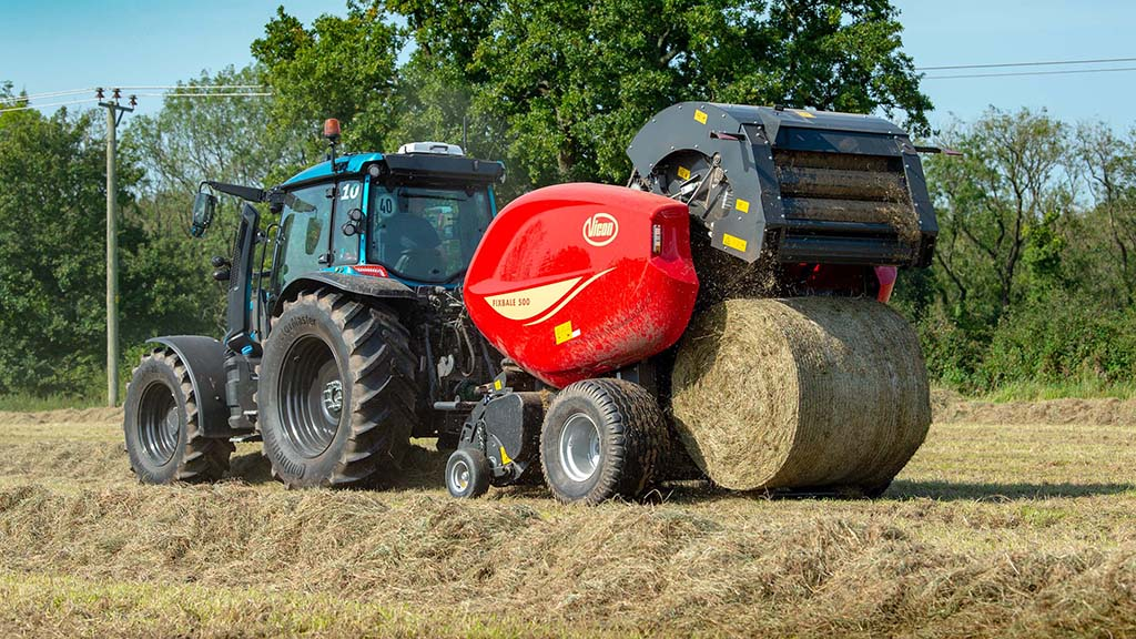 Review: Vicon's beefy FixBale 500 round baler put to the test