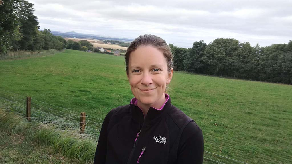 Dr Emma Baxter, a pig specialist and researcher at Scotland's Rural College (SRUC).