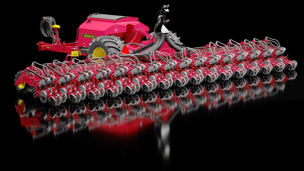 Vaderstad unveils mammoth 32 row precision drill
